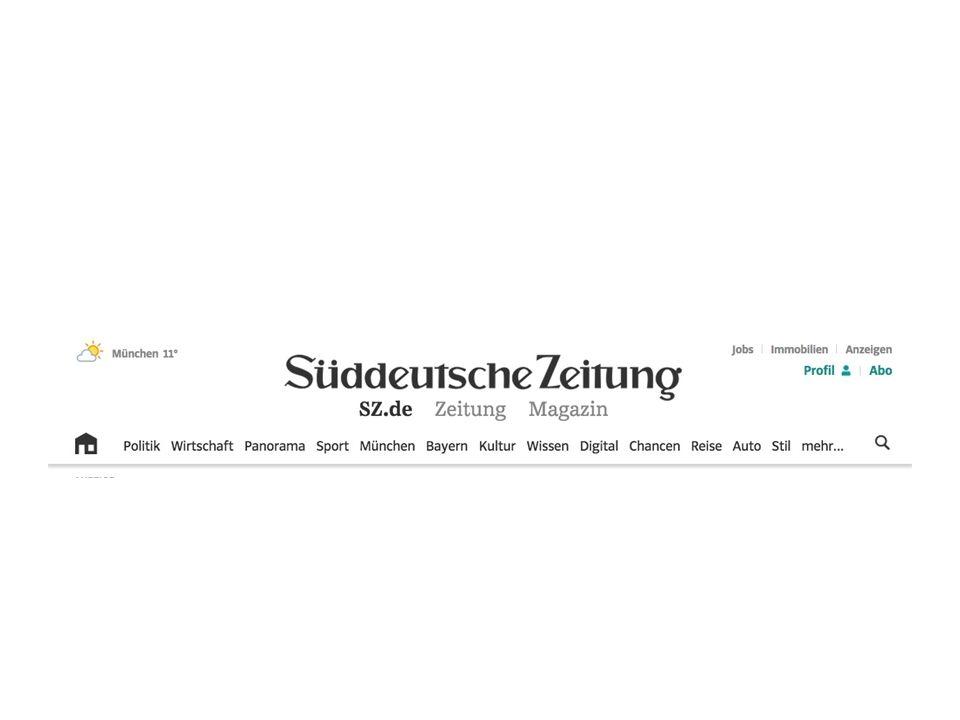 Auflage: 503.970 Größte überregionale Wochenzeitung