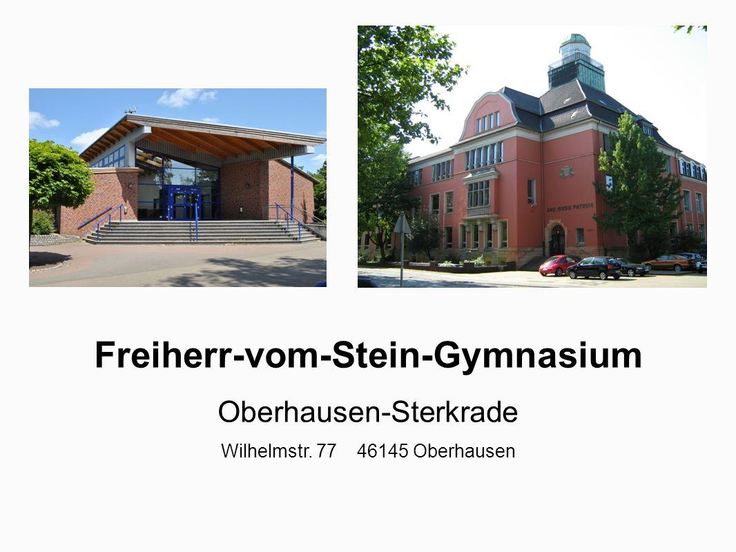 Laufbahn am Gymnasium Sekundarstufe I Klassen 5 - 9 Sekundarstufe II Jahrgangsstufen 10 – 12