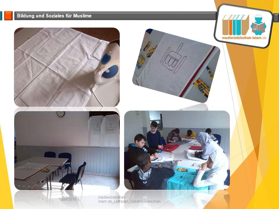 Bildung und Soziales für Muslime Juni 2015 medienbibliothek- islam.de_Leitfaden_Gebetsführerschein