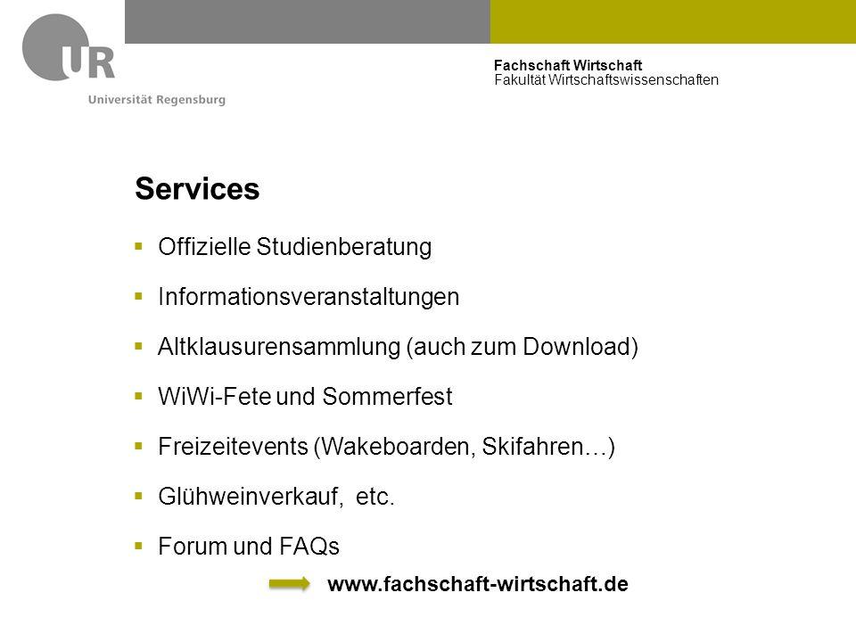 Fachschaft Wirtschaft Fakultät Wirtschaftswissenschaften Hinweis  Einwohnermeldeamt  Jeder hier Wohnhafte muss in Regensburg gemeldet sein  Bürgerbüros: Dr.-Martin-Luther-Straße 3 bzw.