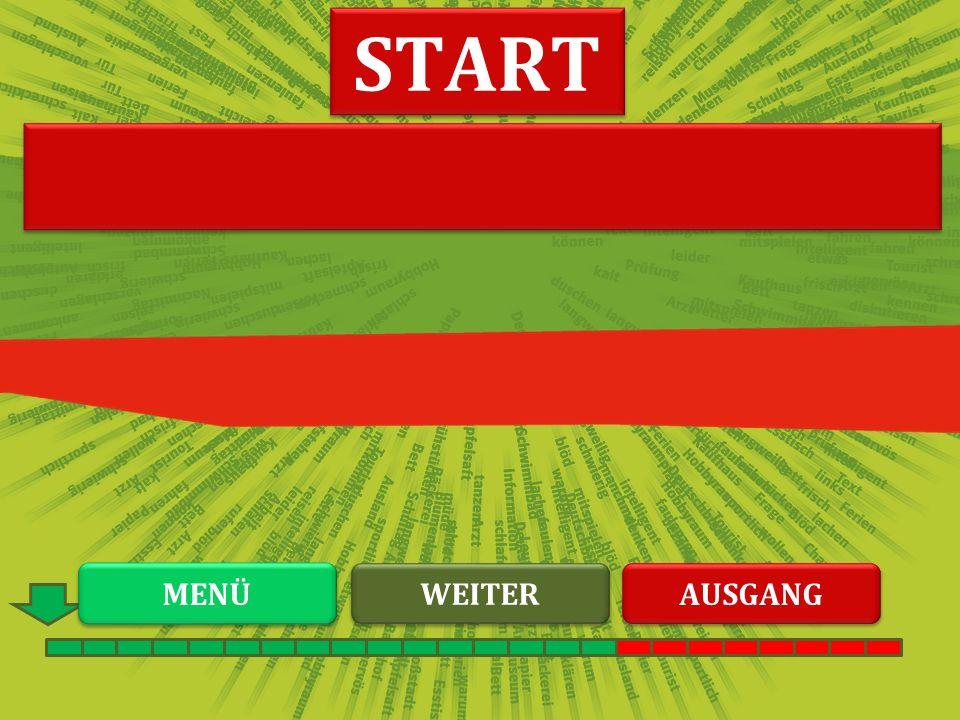 AALBDNHL START WEITER MENÜ AUSGANG