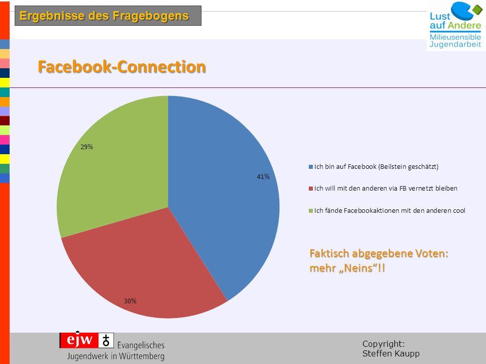 """Copyright: Steffen Kaupp Facebook-Connection Faktisch abgegebene Voten: mehr """"Neins !."""
