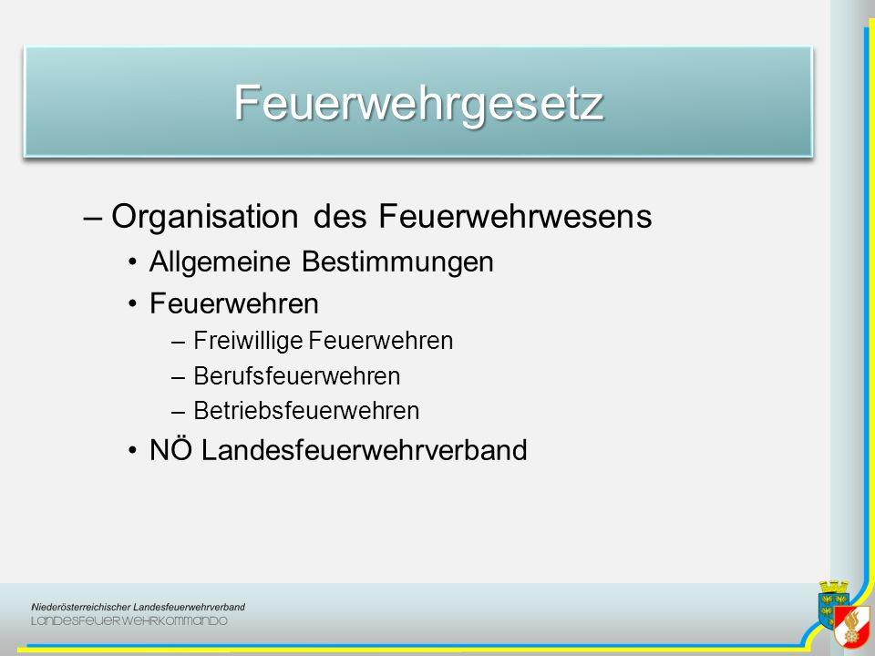 FeuerwehrgesetzFeuerwehrgesetz § 79 Kostenersatz –Gegenüber der Gemeinde verpflichtet Wem eine Brandwache gemäß § 30 Abs.