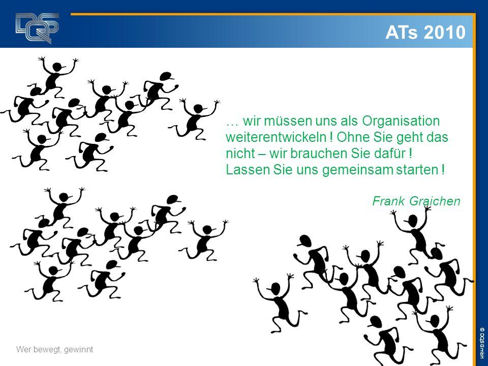 © DQS GmbH Wer bewegt, gewinnt … wir müssen uns als Organisation weiterentwickeln .