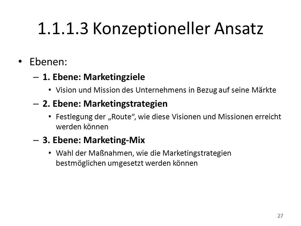 1.1.1.3 Konzeptioneller Ansatz Ebenen: – 1.