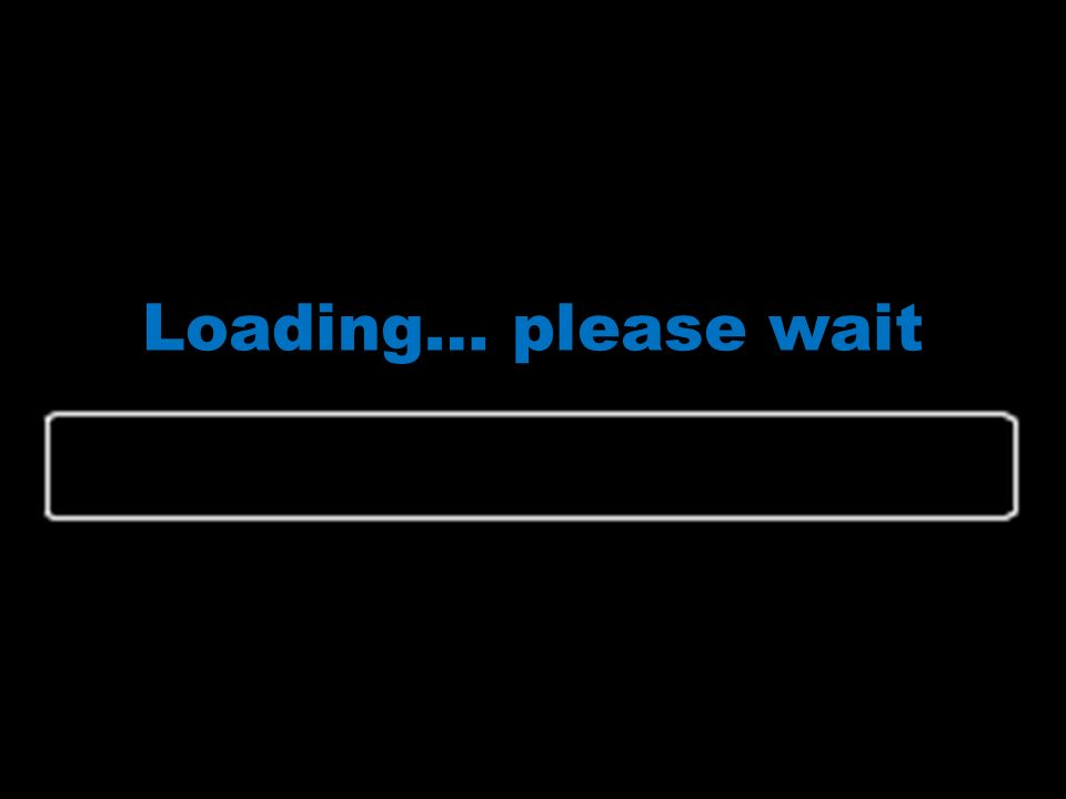 Loading… please wait