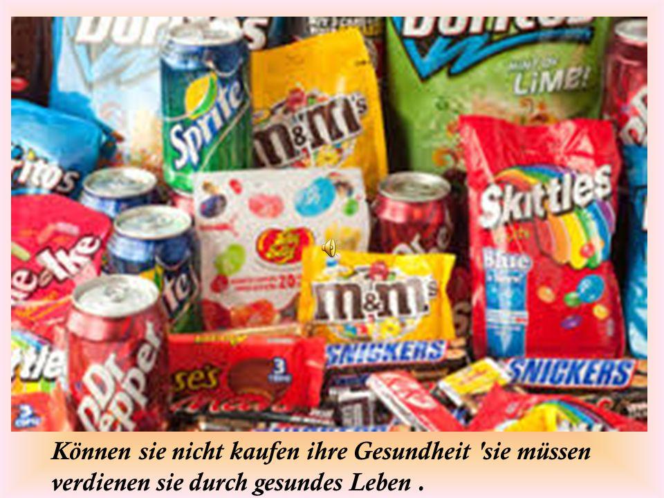 Nicht fragen, warum gesunde Ernährung ist so teuer. fragen, warum ungesundes Essen ist so billig.