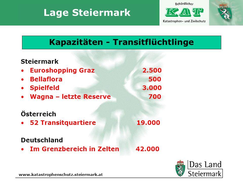 Autor www.katastrophenschutz.steiermark.at Lage Steiermark Aktuelle Lage 15. Oktober 2015, 17.30 Uhr Steiermark Euroshopping Graz2.500 Bellaflora 500