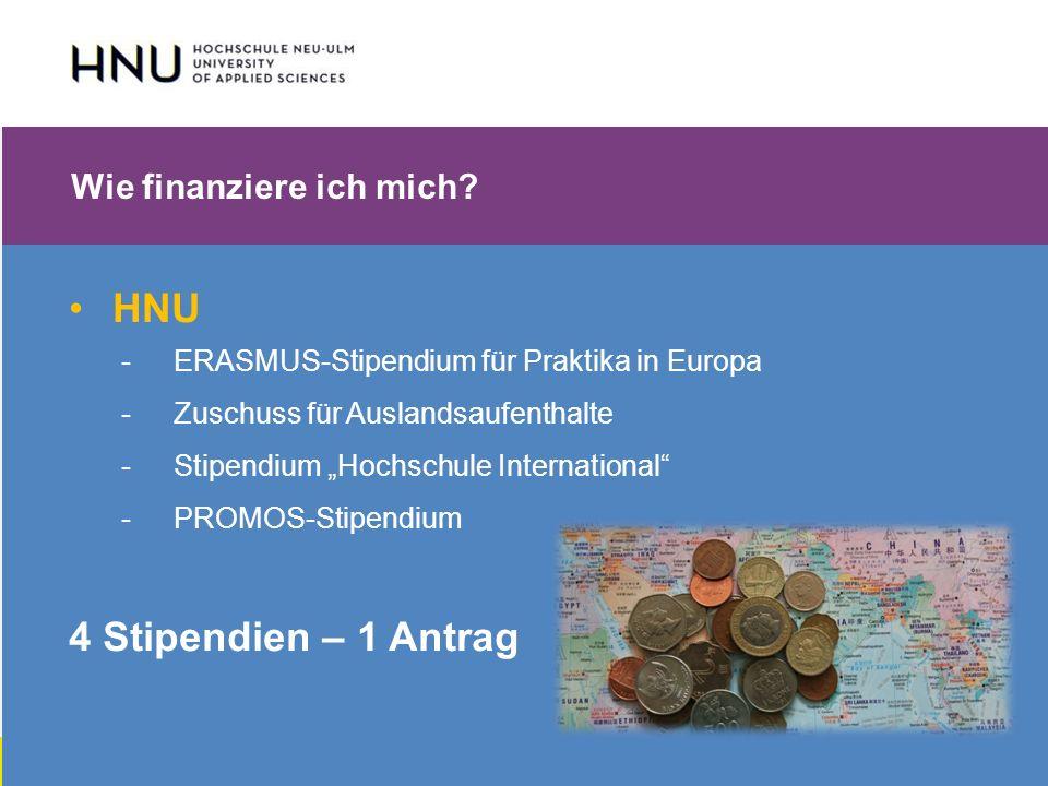 HNU | Hochschule Neu-Ulm | Prof. Dr. Maximilian Mustermann | Corporate Communications II | IMUK 5 | WiSe 2012/2013 Wie finanziere ich mich? HNU - ERAS