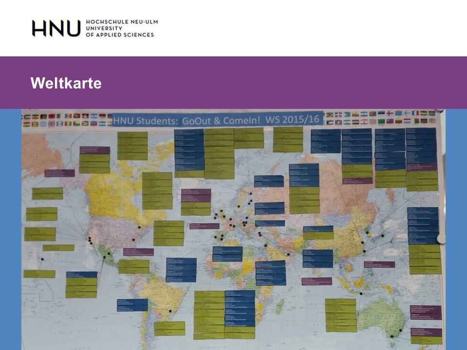 HNU | Hochschule Neu-Ulm | Prof. Dr. Maximilian Mustermann | Corporate Communications II | IMUK 5 | WiSe 2012/2013 Weltkarte