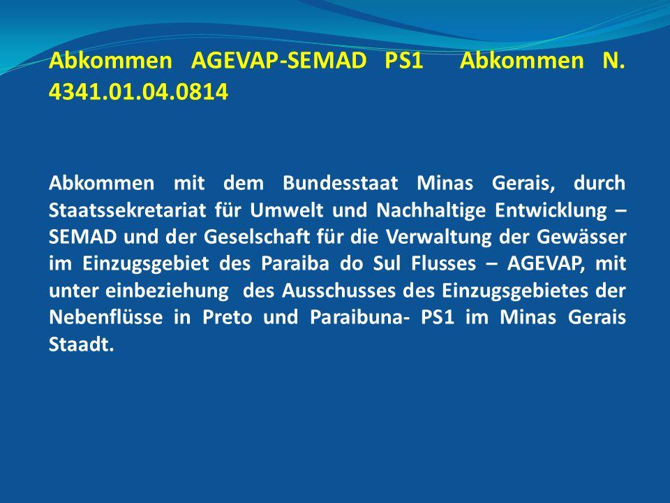 Abkommen AGEVAP-SEMAD PS1 Abkommen N.