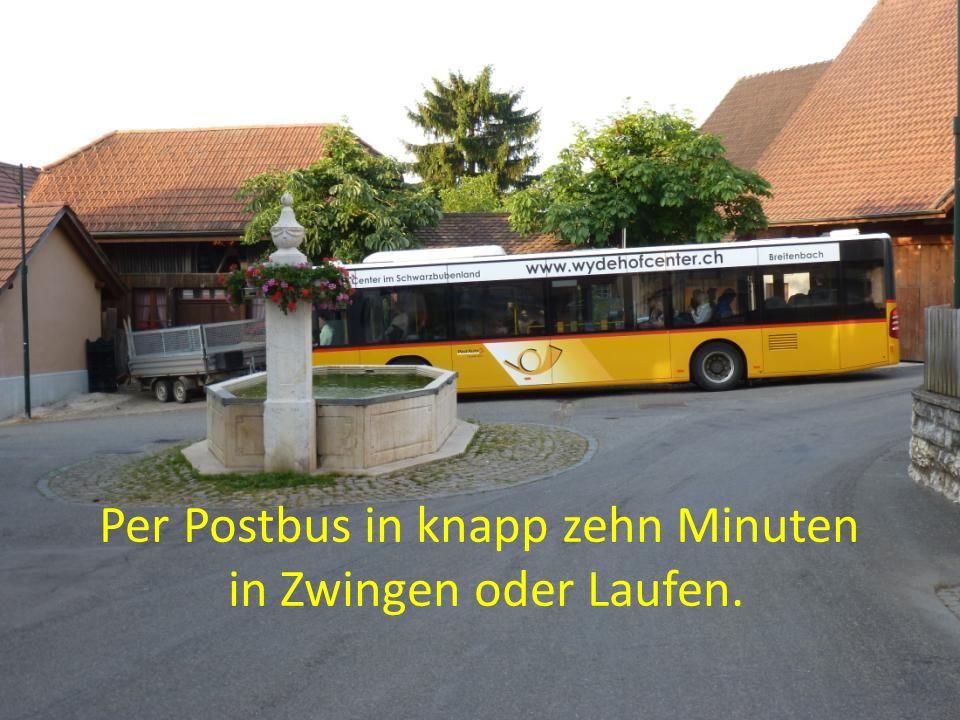 Infrastruktur: ÖV, Dorfladen, Reitstall