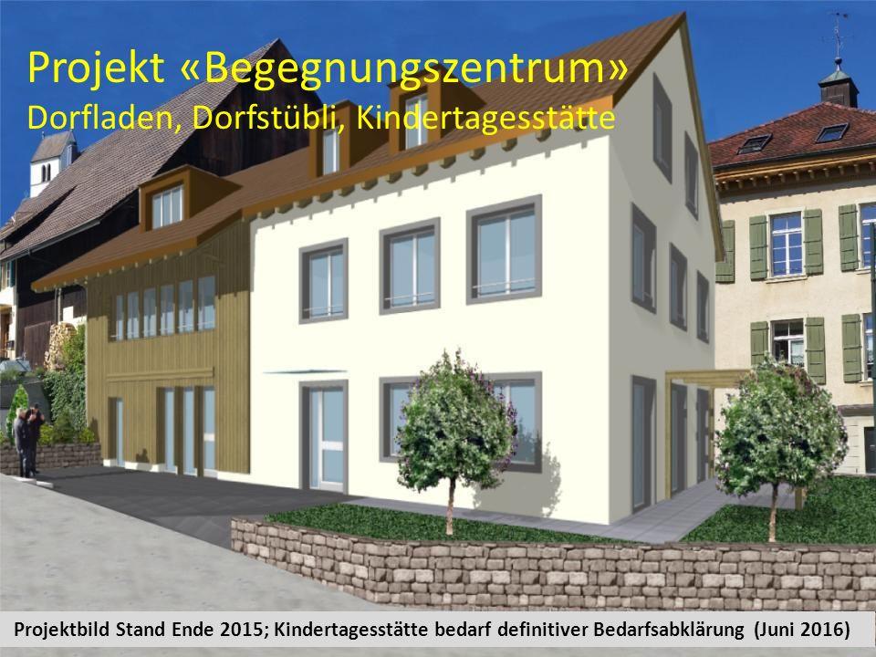 Ab Frühjahr 2017 neuer Dorfladen im «Begegnungszentrum»