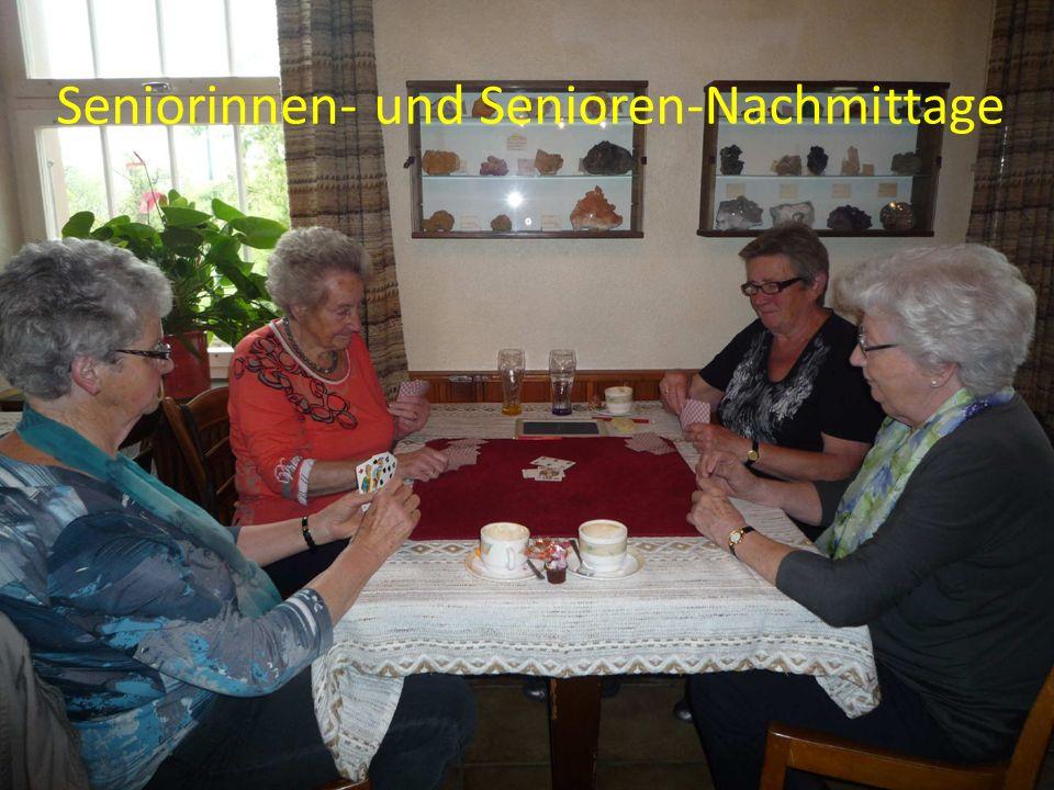 Wandergruppe Seniorinnen und Senioren