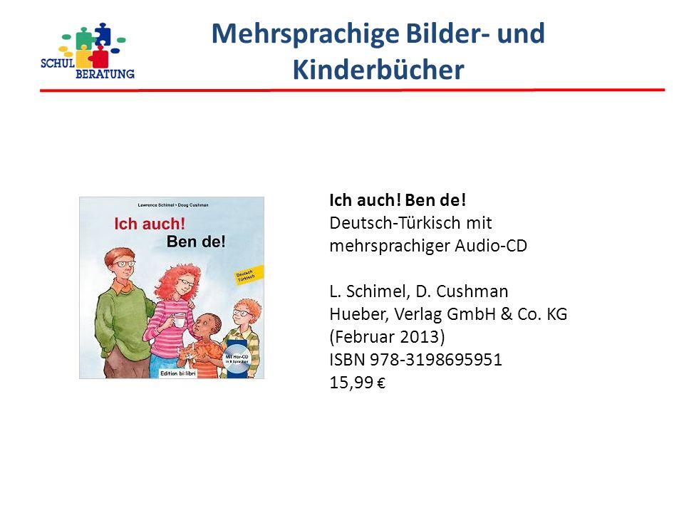 Mehrsprachige Bilder- und Kinderbücher Ich auch.Ben de.