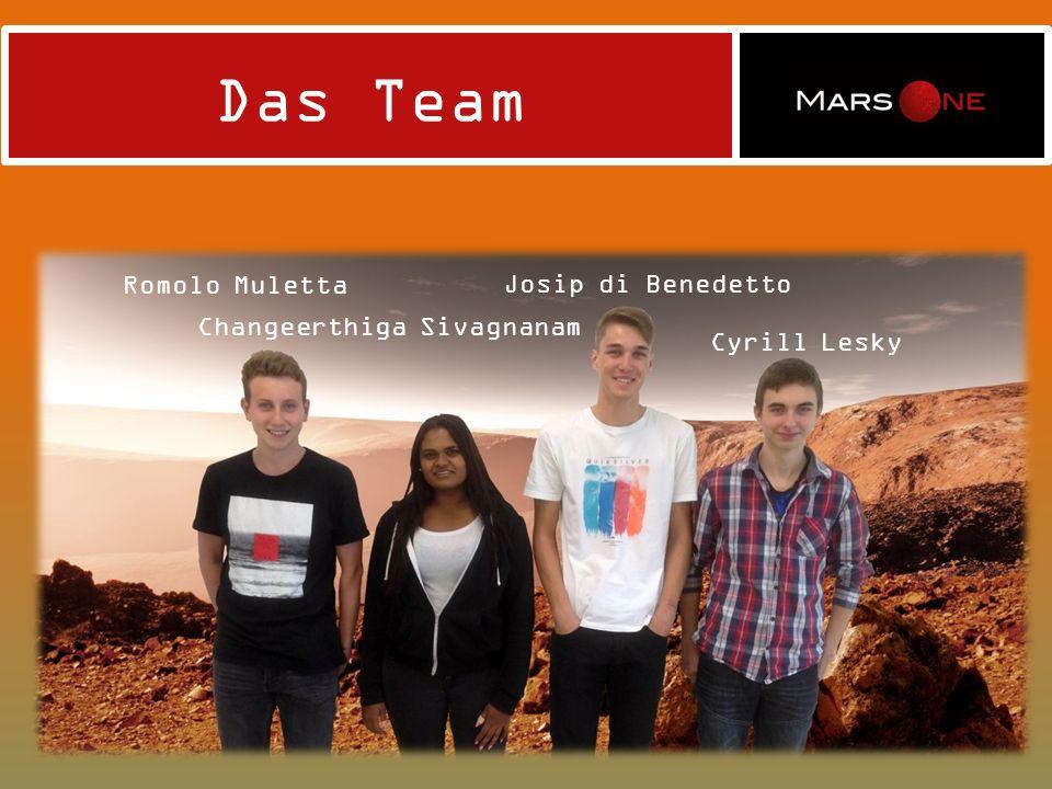 Die Idee Uns fielen keine Ideen ein bis jemand aus der Gruppe News über MarsOne sah.