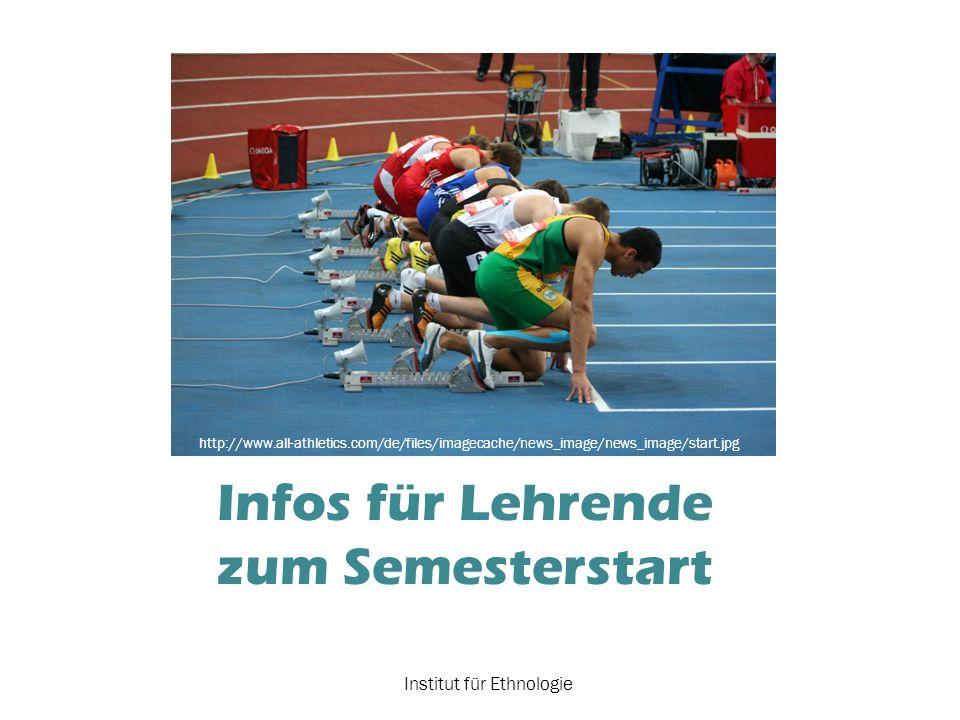 Institut für Ethnologie Infos für Lehrende zum Semesterstart http://www.all-athletics.com/de/files/imagecache/news_image/news_image/start.jpg