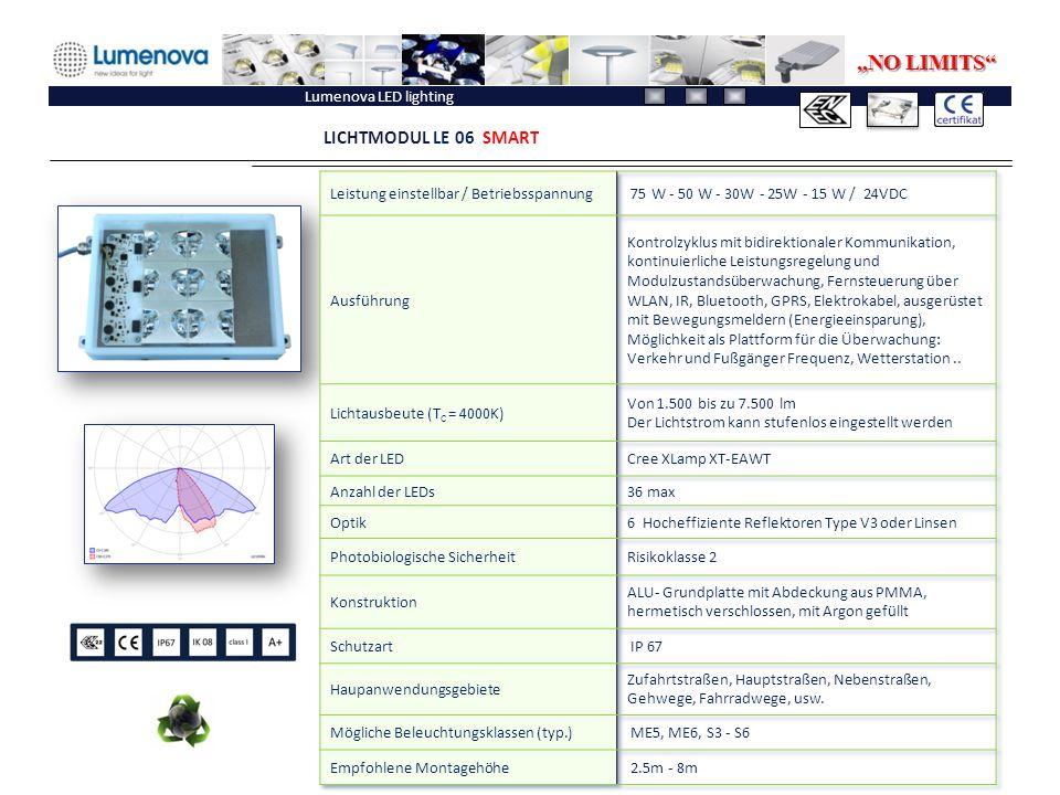 "Lumenova LED lighting LICHTMODUL LE 06 SMART ""NO LIMITS"