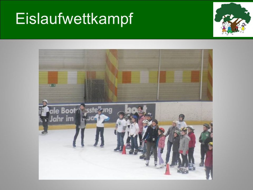 Eislaufwettkampf