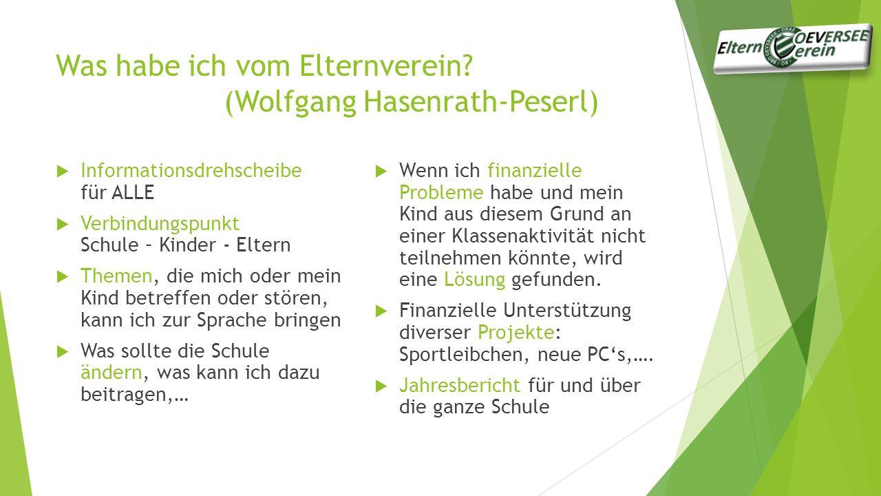 Schulgemeinschaftsausschuss (Dieter Demmelmair)  Was ist der SGA.
