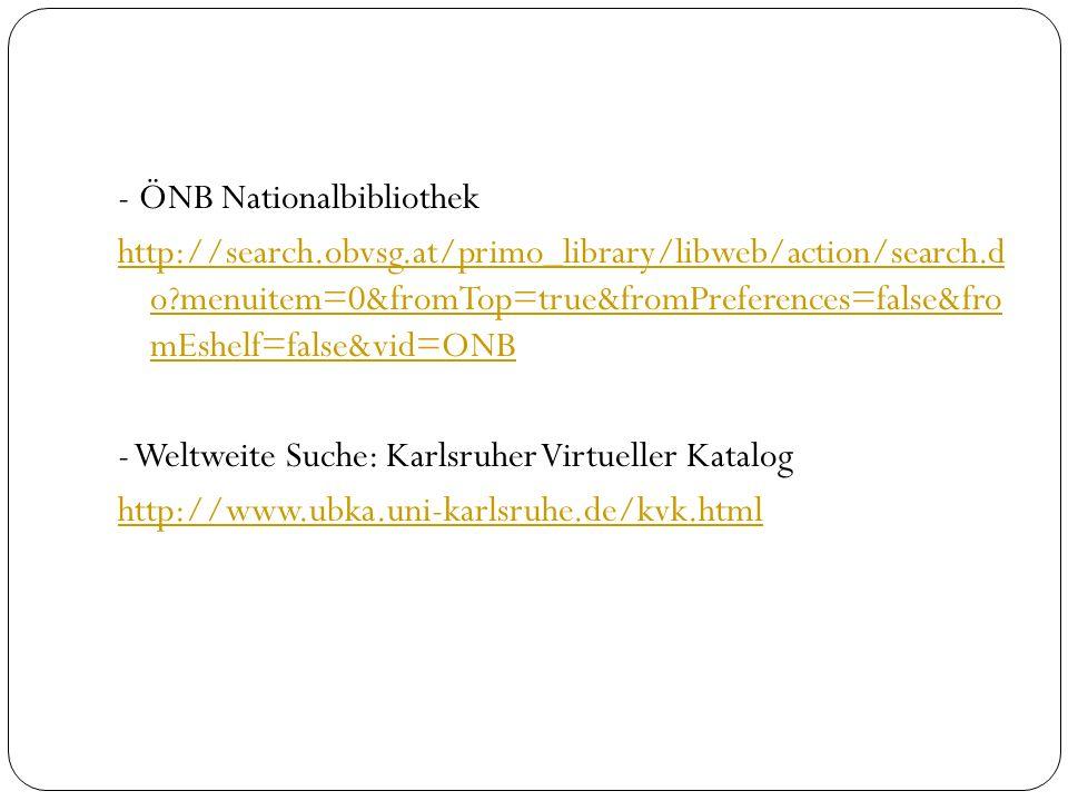 - Städtische Büchereien Wien http://katalog.buechereien.wien.at/index.asp?DB=BIB_SYS - Wr.