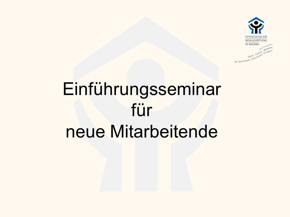 Einführungsseminar für neue Mitarbeitende