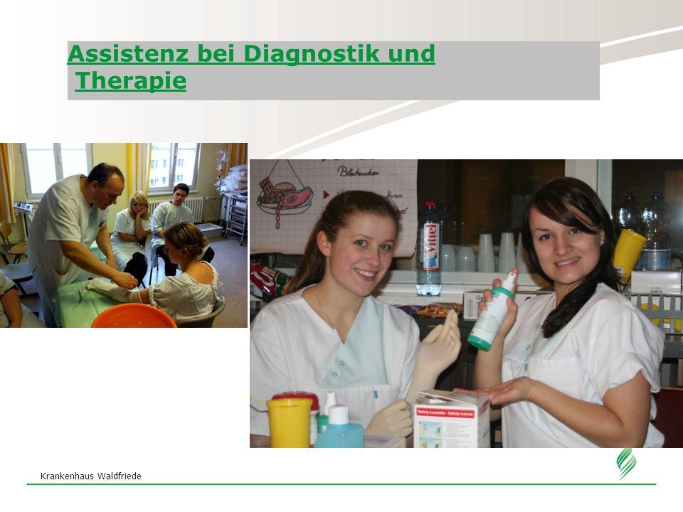 Krankenhaus Waldfriede Assistenz bei Diagnostik und Therapie