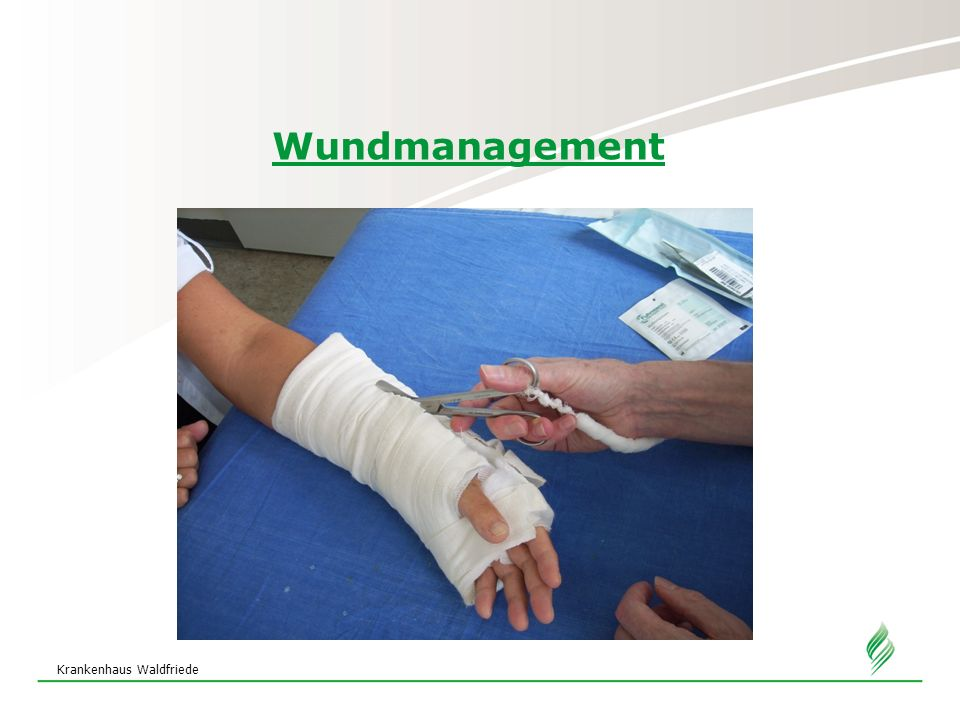 Krankenhaus Waldfriede Wundmanagement