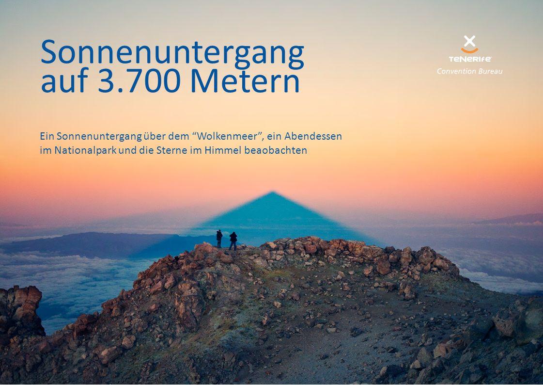 """Sonnenuntergang auf 3.700 Metern Ein Sonnenuntergang über dem """"Wolkenmeer"""", ein Abendessen im Nationalpark und die Sterne im Himmel beaobachten"""