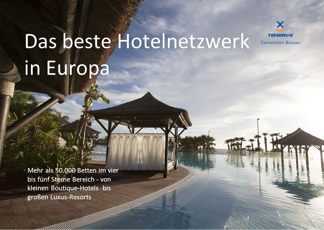 Das beste Hotelnetzwerk in Europa ·Mehr als 50.000 Betten im vier bis fünf Sterne Bereich - von kleinen Boutique-Hotels bis großen Luxus-Resorts