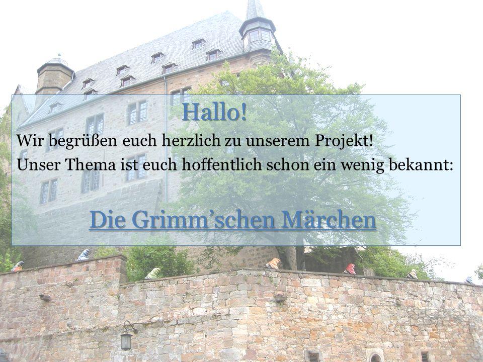 Quellen Heidenreich, Bernd/Grothe, Ewald: Die Grimms.