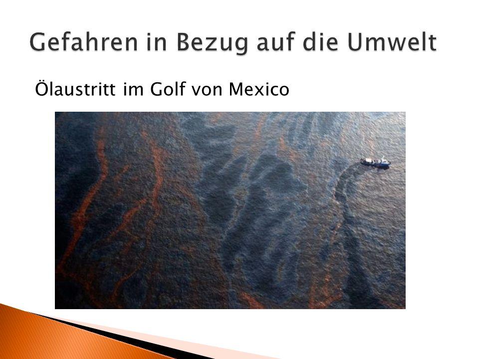 Ölaustritt im Golf von Mexico
