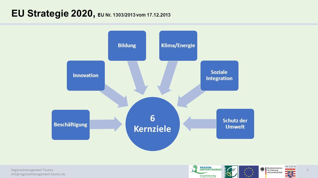 Regionalmanagement Taunus info@regionalmanagement-taunus.de LEADER - Ansatz 4 LEADER- Strategie KooperationInnovationVernetzung Gebietsbezogene integrierte Strategie Bottom-up Prinzip Lokale Aktionsgruppe (LAG) (Öffentlich-private Partnerschaft) Integrierte und multisektorale Aktionen