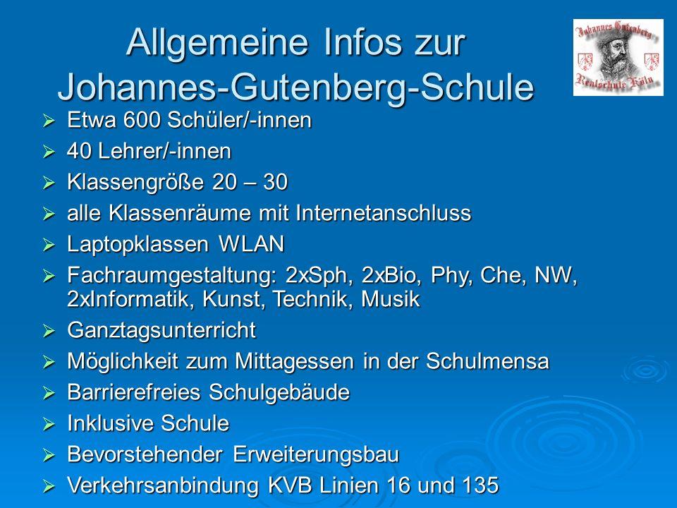 Möglicher Stundenplan einer Klasse 5 MoDiMiDoFr 1.Std 8.10 - 8.55 KunstMathematikEnglischEnglisch Frw.Chor * 2.Std 9.00 - 9.45 Kunst Religion / prakt.Phil.