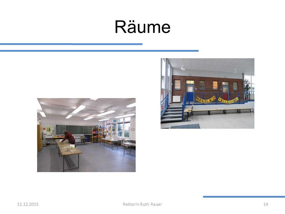 Räume 11.12.2015Rektorin Ruth Rauer14