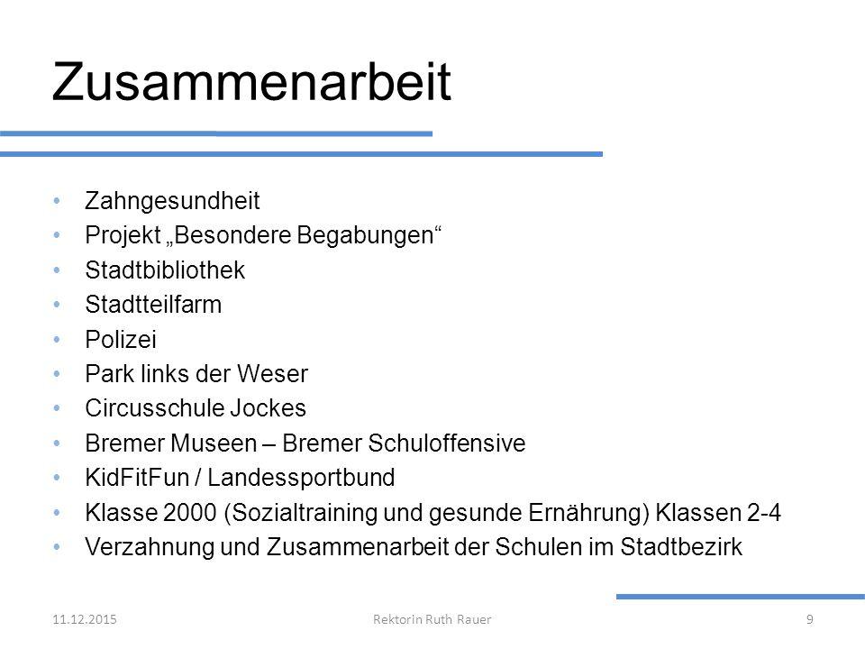 """Zusammenarbeit Zahngesundheit Projekt """"Besondere Begabungen"""" Stadtbibliothek Stadtteilfarm Polizei Park links der Weser Circusschule Jockes Bremer Mus"""