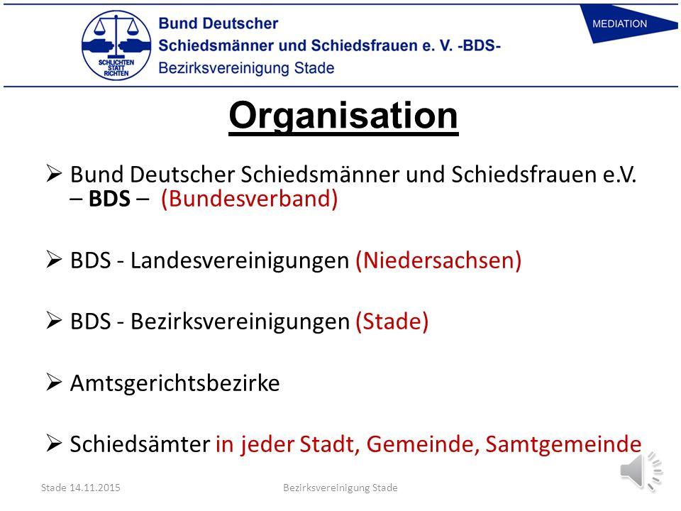 Organisation  Bund Deutscher Schiedsmänner und Schiedsfrauen e.V.