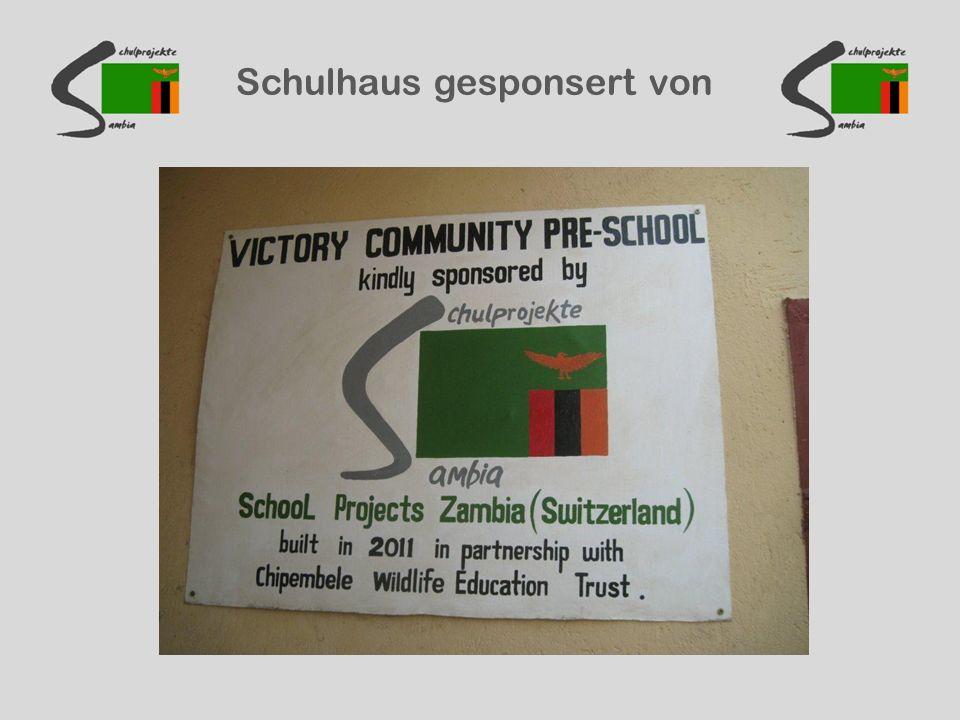 Schulhaus gesponsert von