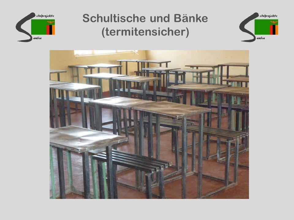Schultische und Bänke (termitensicher)
