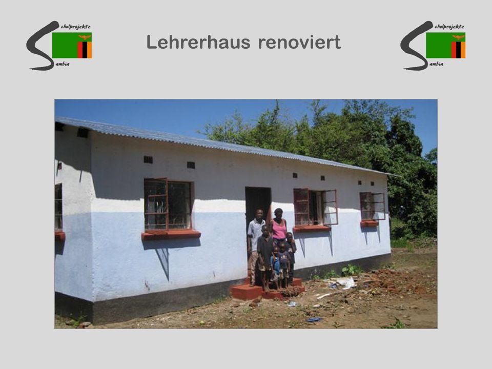 Lehrerhaus renoviert