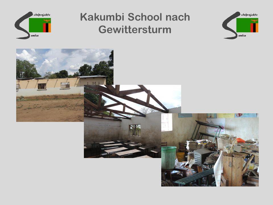 Kakumbi School nach Gewittersturm