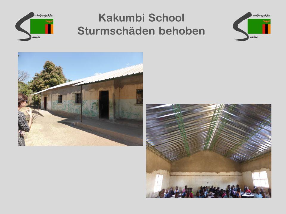 Kakumbi School Sturmschäden behoben