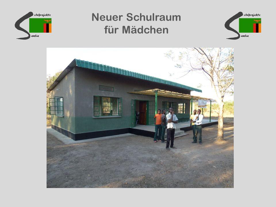 Neuer Schulraum für Mädchen