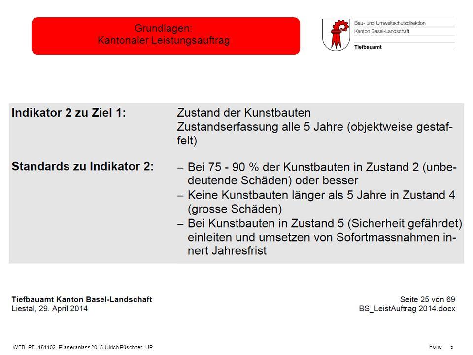 WEB_PF_151102_Planeranlass 2015-Ulrich Püschner_UP Folie Grundlagen: Kantonaler Leistungsauftrag 5