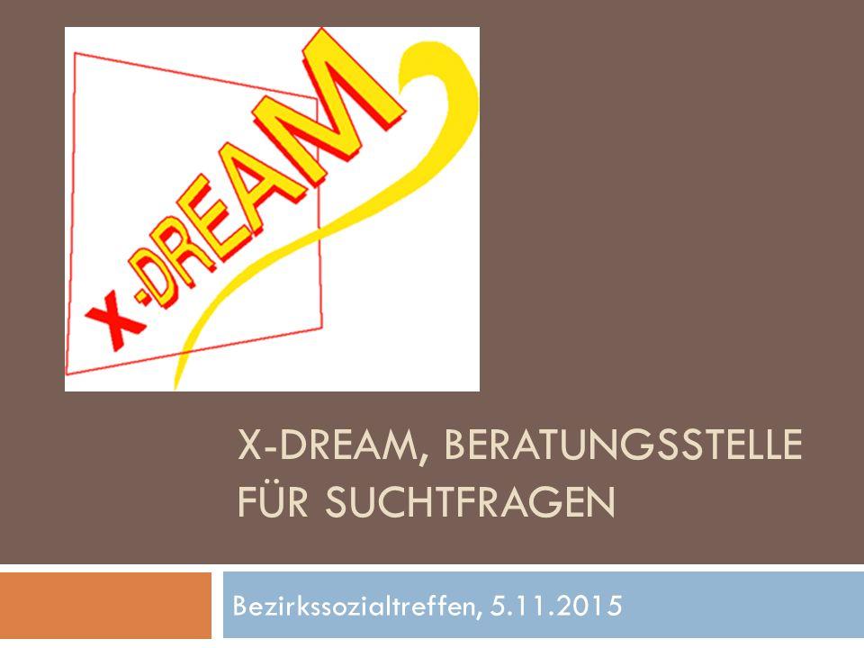 Bezirkssozialtreffen, 5.11.2015 X-DREAM, BERATUNGSSTELLE FÜR SUCHTFRAGEN