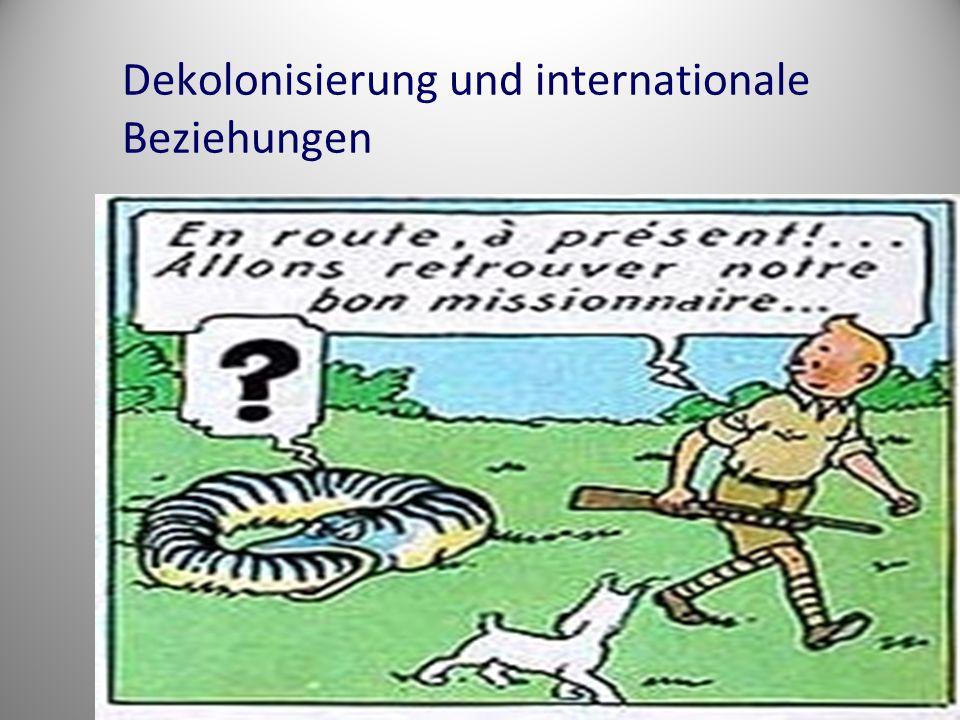 Dekolonisierung und internationale Beziehungen