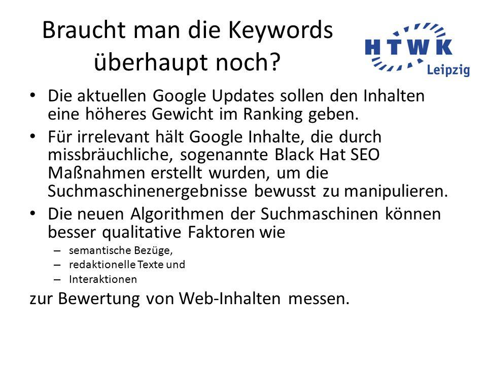 SEO-Textenwww.journalistenakademie.de7/20 Google - auch eine Zielgruppe.