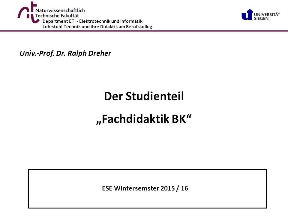 Prof.Dr. phil. Ralph Dreher www.tvd-edu.com Prof.