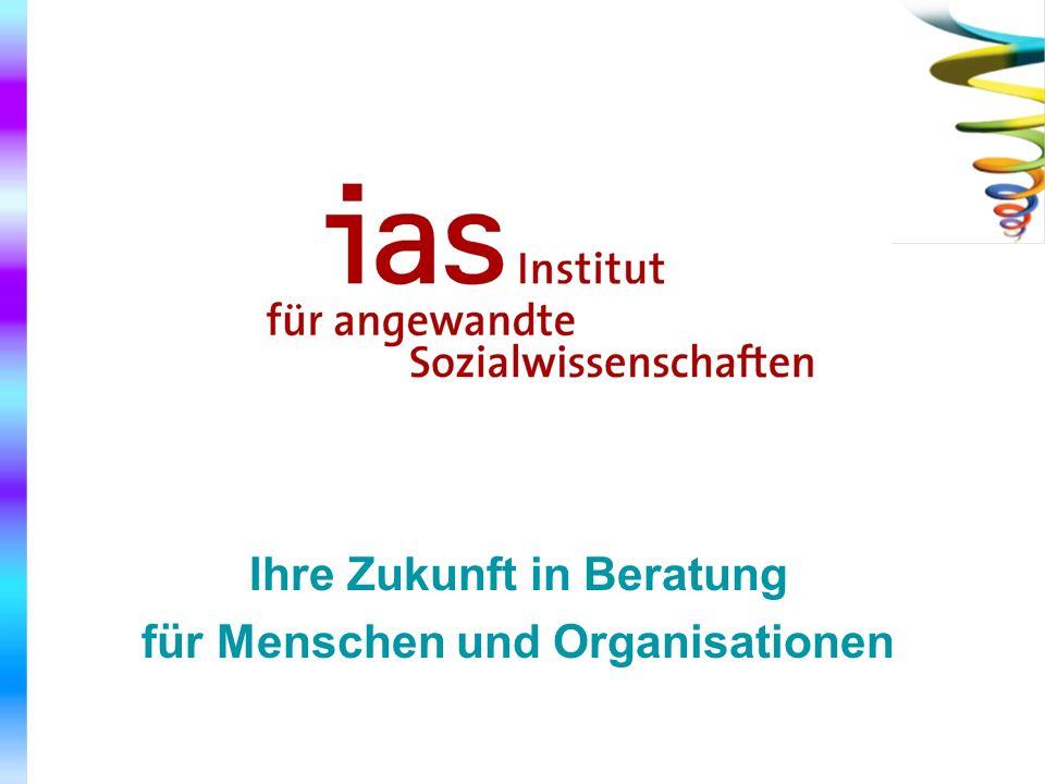 Ihre Zukunft in Beratung für Menschen und Organisationen