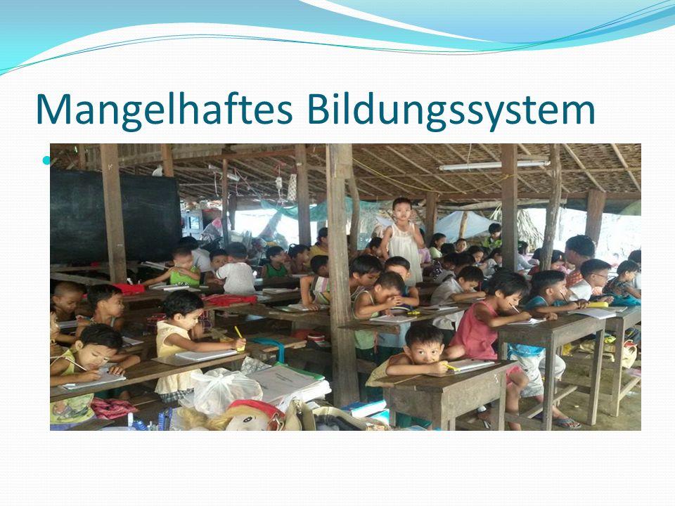 Mangelhaftes Bildungssystem Die